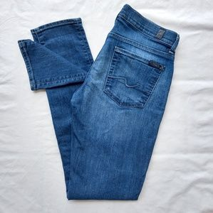7 For All Mankind Roxanne Size 27 Skinny Jeans